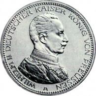Preussen  3 Mark Wilhelm II Uniform J. 113