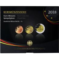 Euro-Kurssatz Deutschland 5,88 Euro 2018 PP im Blister Mzz. A