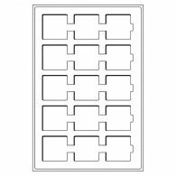 320714 - Münztabelaus TAB 15 Fächer