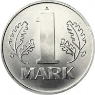 Muenzen DDR 1 Mark sammeln