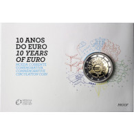 "Sammlermünze 2 Euro Gedenkmünzen 2 Euro Sondermünzen 2 Euro Münzen Portugal 2 Euro 2012 PP "" 10 Jahre Euro- Bargeld "" im Blister"