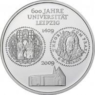 Deutschland 10 Euro 2009 PP 600 Jahre Universität Leipzig