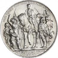 J.109 - Preußen 2 Mark Silber 1913 Der König rief