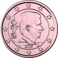 Euro Cent Muenze aus Belgien Jahrgang 2016 Philippe