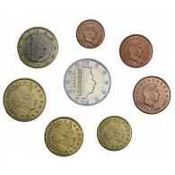 Euro Kursmünzensatz 2016 Luxemburg lose