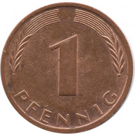 BRD 1 Pfennig 1999 J