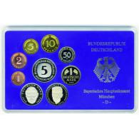 BRD 10,68 DM Kursmünzensatz 1989 PP 1 Pfennig bis 5 D-Mark