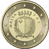 Malta 50 Cent 2012 Staatswappen Malta