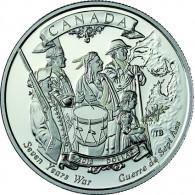 Kanada 1 Dollar Silber  2013  PP 250 Jahre Ende des 7jährigen Krieges