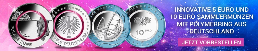 5 Euro und 10 Euro Gedenkmünzen Deutschland 2021